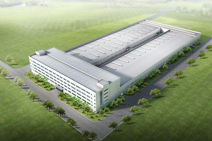 十八研究所联合厂房,生产辅助用立体仓库钢结构工程